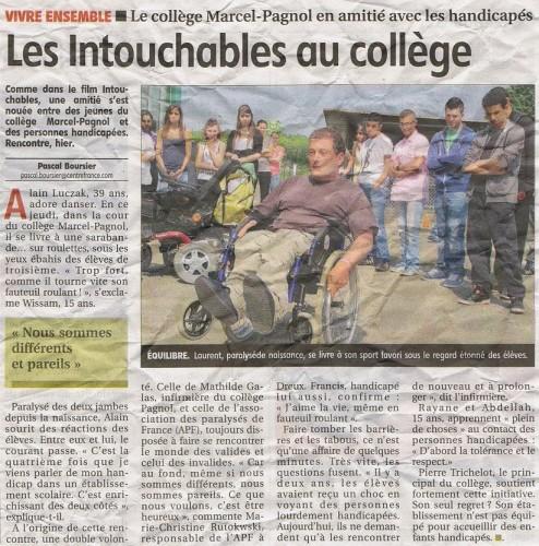 dreux, Marcel Pagnol, handicap
